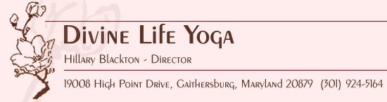 Divine Life Yoga Studio in Gaithersburg Maryland